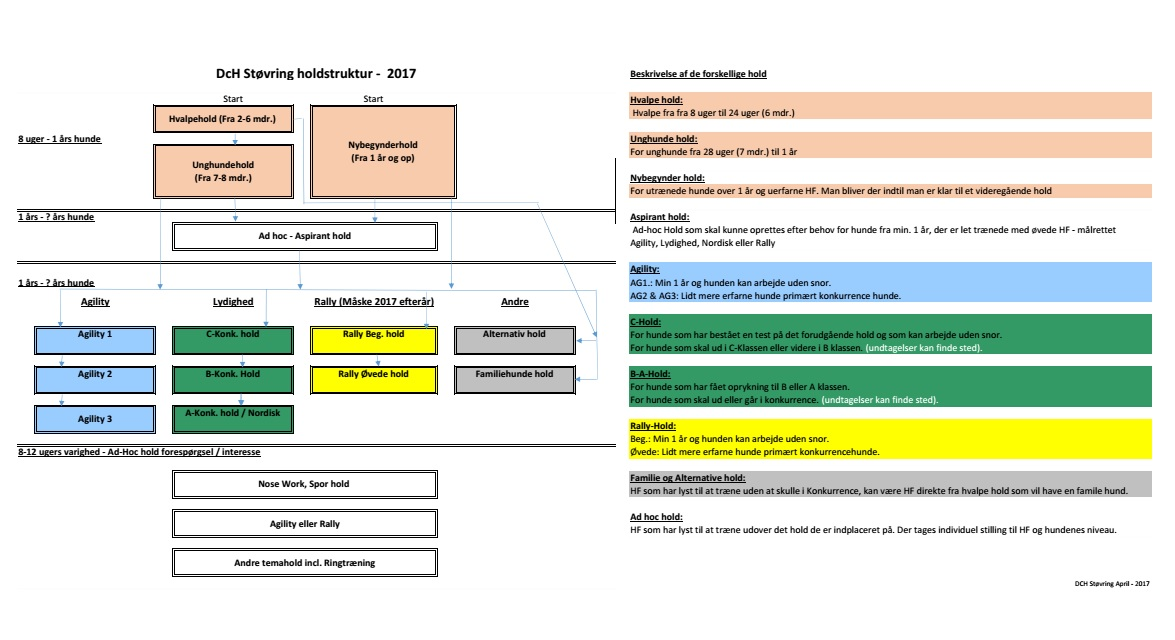 Holdstruktur DCH 2017