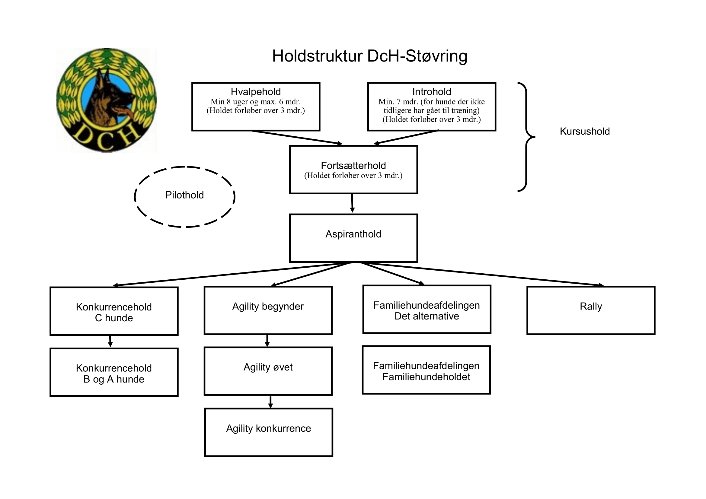 Holdstruktur DCH